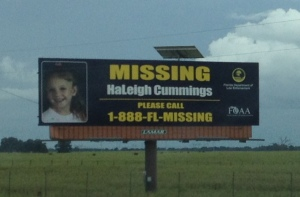 HaLeigh Cummings is classified as Missing and Endangered.