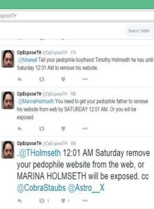 Twitter Threat Holmseth