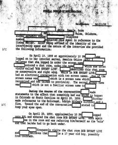 FBI Columbine Report Bob Enyart