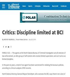 BCI Bismarck Tribune