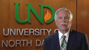 UND President Ed Schafer
