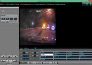 Dash Cam 12 36 A.M. on Bridge