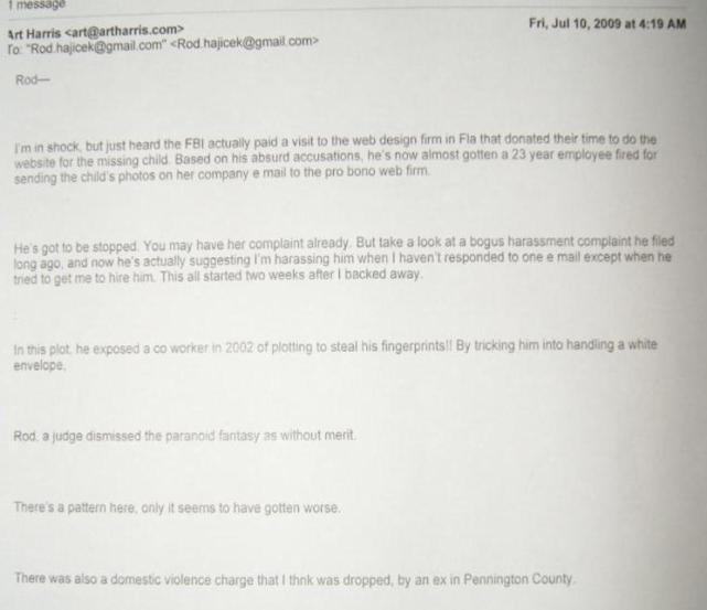 hajicek-and-harris-email