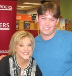 Levi Page with Nancy Grace
